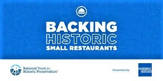 Photo of the Backing Historic Small Restaurants logo