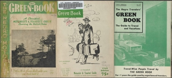 Photo of covers of the Green Book