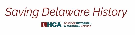 Logo of the Saving Delaware History newsletter