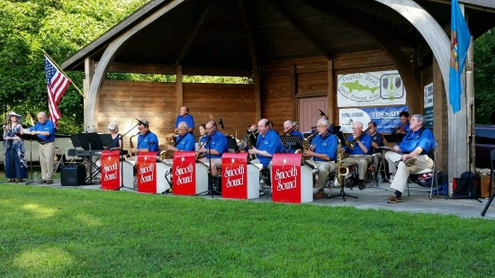 Photo of the Smooth Sound Big Band