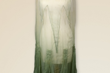 Green Dress 1920's
