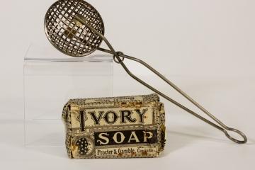 Ivory Soap & Soap Saver