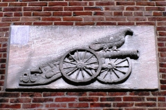Image: Detail from the Arsenal building.