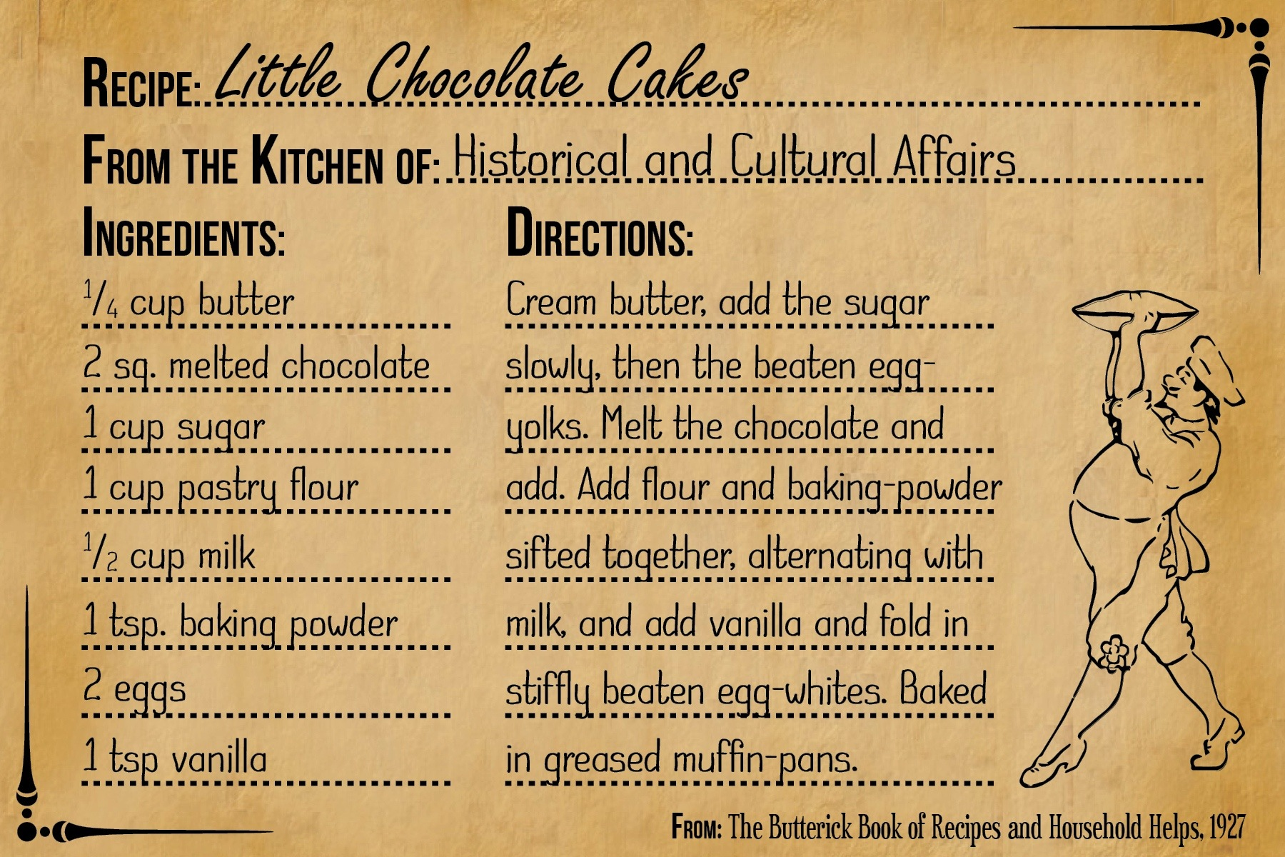 Little Chocolate Cakes